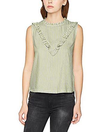 25156 Mavi Mehrfarbig Stripe Blouse Para X large Mujer Blusa white olivine q7yS8qac1