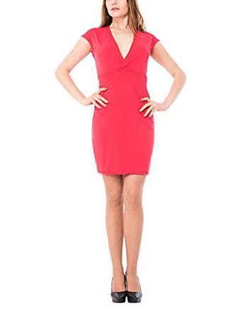 Mujer Abito V Sophistiquees Les Rojo M Scollo Vestido Para rosso400 6awwgPYq