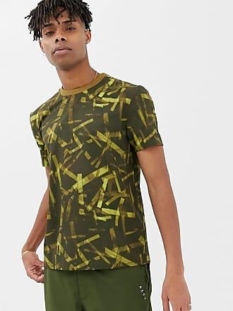 Asos Y 4505 De Con Utilitarios Camuflaje Camiseta Bolsillos Estampado wXPrvxXUq