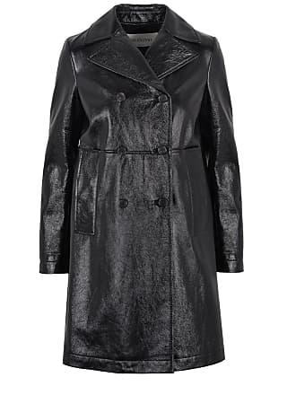 Coat Trench Valentino Valentino Trench Leather Coat Valentino Leather YO0fqwvaw