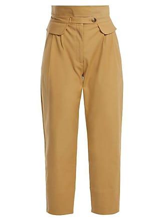 mezcla Sea York Rise Pantalones mujer beige New para de con Kamille High algodón 0qddwCE