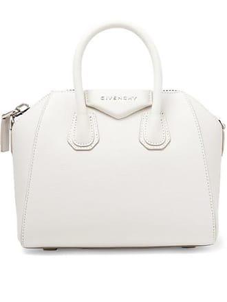 Strukturiertem Weiß Antigona Tote Givenchy Aus Kleine Leder wvTp0UIq