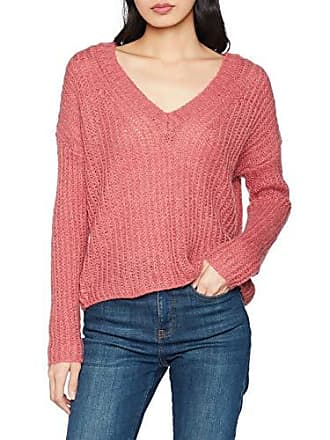 Onlbluebell Small s Knt Pull Femme L 38 Pullover neck Rose Nos baroque Only Fabricant Wool V taille 1q5ppx