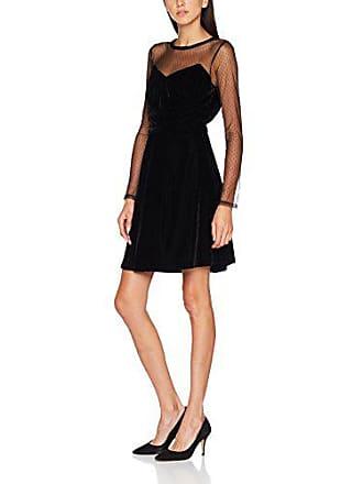 Negro noir Vestido talla Del 6 Beret Para Derhy Fabricante Mujer 42 Large 41IqwX