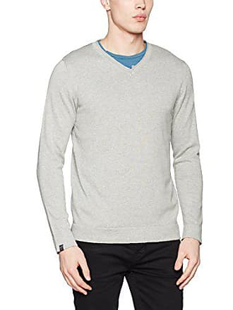 Pull Grey Jones Jornewwilliam light Jack Homme V amp; Knit Gris Neck Yqx71v