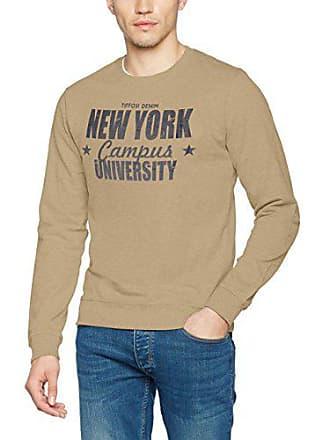 Sweat Fabricant Tiffosi Large taille Shirt large Zack Beige Homme 5xwwz6q0g