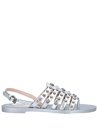 Women's Shoes Trustful Rrp €315 Lautre Chose Leather Sandals Eu 37 Uk 4 Ankle Strap Beads Made In Italy Do You Want To Buy Some Chinese Native Produce?