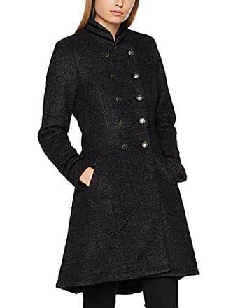 Coat black Noir Femme Manteau 42 Annabell Cream 61895 Melange pSwq5RI