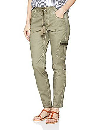 Slim Para Gerry Jeans Hose 50754 By olive Vaqueros Verkürzt Green Verde Weber Mujer Taifun 42 qqwpnA80