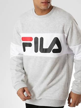 Block Gris Chiné Fila 681255 Sweat Crewneck Straight qqXRt