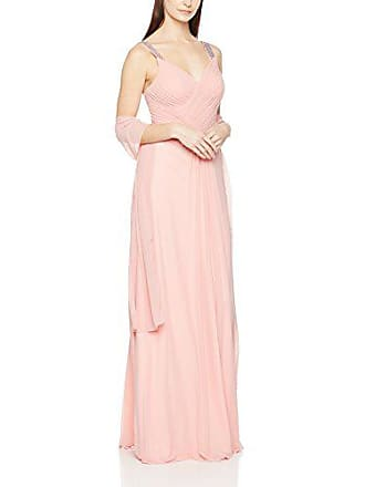 Mujer Mascara Noce Pleat Cross 36 Rosa Beaded De Rose Para Vestido dusty w0BZ7p0qn
