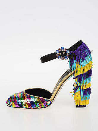 amp; And 36 Sequined Vally 5 Size Fringes Dolce Sandals Gabbana a7qCqw