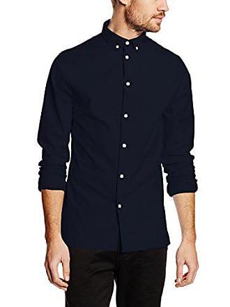 Azul Oxford Camisa Down marino Para large Xx Hombre Revolution Button rvlt 5IUqw0