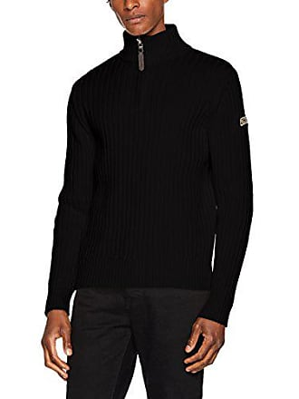 Nyc large Suéter Plrage2 Del Fabricante black Xxx Para Schott Negro Hombre talla fwdPnE