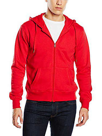 st5610 Piccolo rosso per Felpa uomo Apparel cremisi Rosso Sweatjacket Active Stedman Z8vqtv