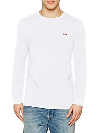 ls Hm Patch Large Cotton Blanco 0000 White Para Original Tee Levi's Camiseta Hombre TqO04nz5
