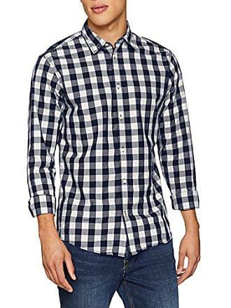 Shirt Herren L Freizeithemd mixed Jack Small white Mehrfarbig Navy Checks s amp; Jones Jjegingham EqYCXw