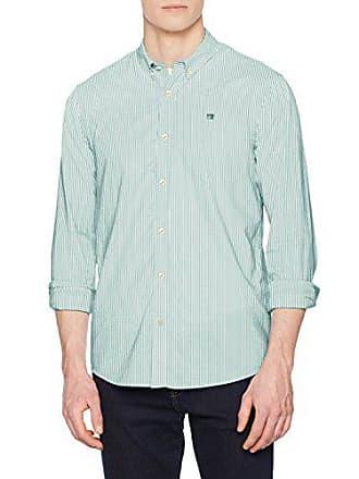 0217 Para combo Scotch Oxford A Medium Hombre Shirt amp; Regular Camisa Soda classic Fit Blanco waxOPq8w