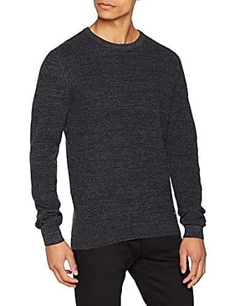 Friday Gris Pull dark Medium Casual 50818 Grey Melange Homme Pullover FwIn7d