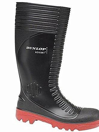Ribbed schwarz Dunlop Eur Sicherheits Gummistiefel Acifort 42 A252931 pRqExBwqUP