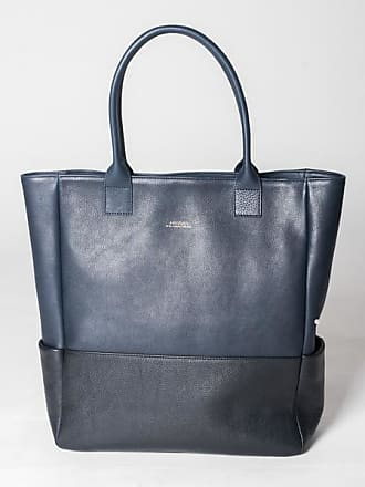 And Black Dunkelblaue Organic Beaumont Navy Leder Blue tasche Shopper Schwarze Size Montpellier Aus Und One P1qwqvZ