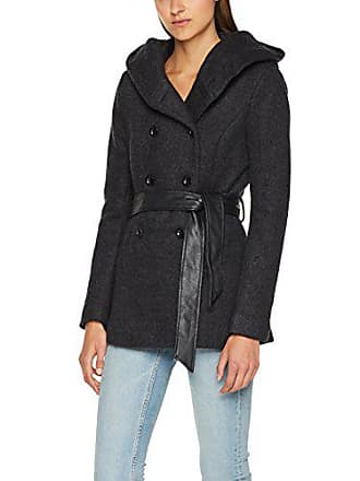 Wool Cc Coat Blouson Noir black Detail Otw Onlmary Lisa Only Femme Short Awxg1
