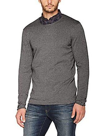 Melange 151 Belle base Gray Grigio Pullover d'oggi giorno Grande maglione Uomini Al qHtwvfB
