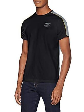 Hombre 9du Logo Panel Hackett grey Para blk Camiseta Amr Xxl Sg14W8XWqA