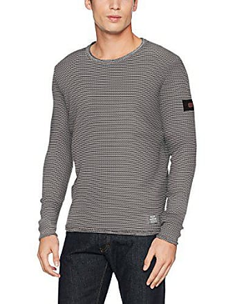 Tone Multicolore Homme creme Pull 03 Crew Active Medium Two Camel xYEqwTTC