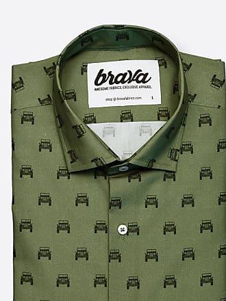 Brava Estampada Camisa Fabrics Willys Adventure RqXOnCqw