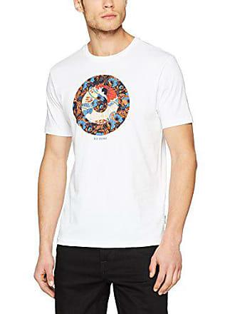 Hero Hombre Ben Sherman shirt Para Blanco T Camiseta 010 X Target large white 5Rq0xRwf
