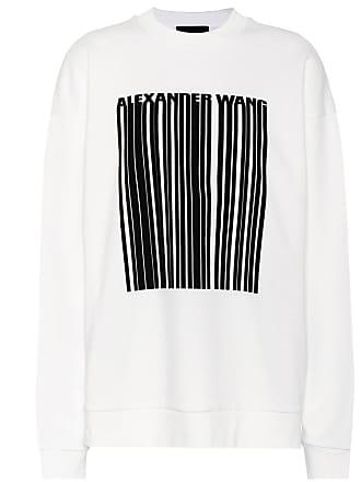 Print Baumwoll sweater Alexander Wang Mit QthCsrdxB