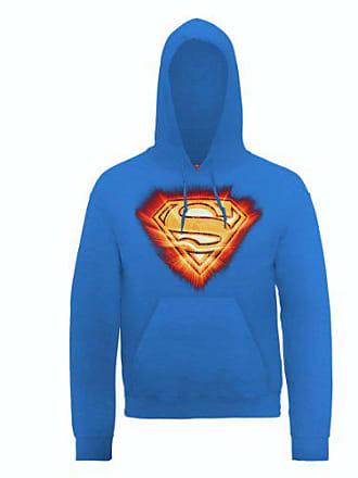 À Logo Bleu Capuche Comics Sweat Superman Homme Blast Dc0000226 Dc Official Shirt X8awqpSan