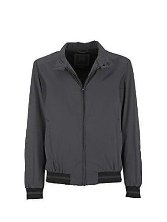 Man Homme Large Gris Geox Blouson Jacket titane F1069 FpUcvc