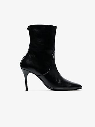 90 amp; Town Dorateymur Country Black Leather Boots 5wIwFEqn