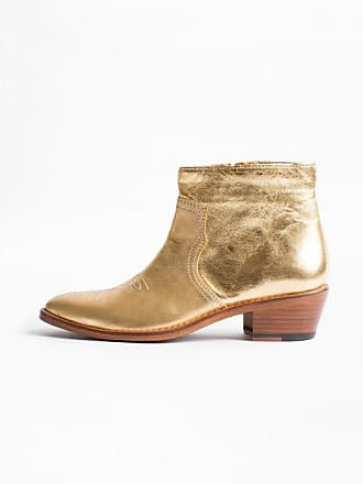 Gold Zadigamp; Pilar Voltaire Bottines Low dthQrsC