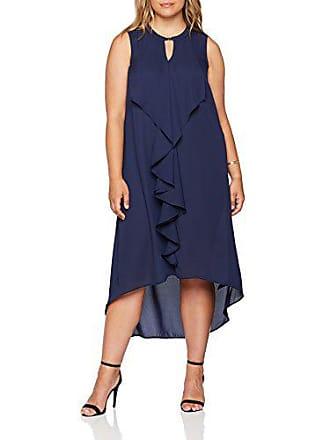 Clasp Mujer navy Evans 23 Frill Azul Para 50 Vestido qwwO7a4