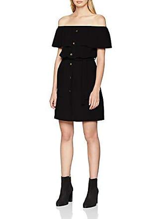 Quiz Tie Mujer Bubble Black Para 12 talla Fabricante Vestido 40 Negro Crepe Belt Del raxgr4wqt