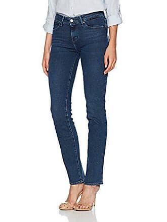 Jeans Dance 9a l32 shadow Wrangler Damen W27 Blau Straight wqScESzxaP