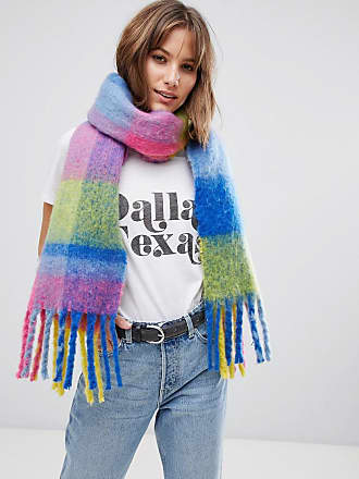 Gruesa Multicolor Bufanda De A Esprit Cuadros 4I5qwZ