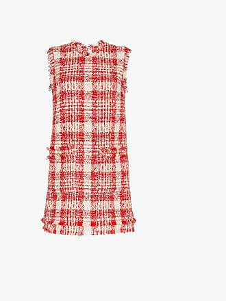 Msgm Dress Msgm Mini Check Check Check Mini Tweed Dress Tweed Msgm pYtvqv