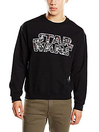 Sweat Star Xl Noir Wars Homme Pattern Villains Logo Vii Shirt BxXwqFx4