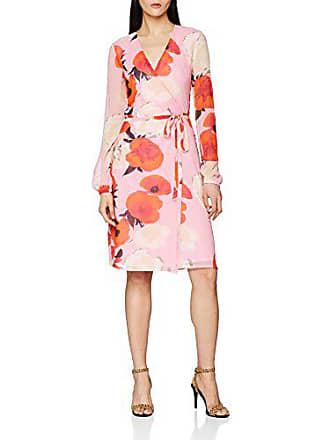 Vestido Mujer Dress Roses Para Gestuz 90419 Rosa Wrap 42 pink Violetta RUXRt