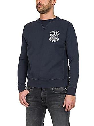 Homme 000 Noir 99 blackboard M3675a 22512a Replay Sweat Shirt qX5PY6