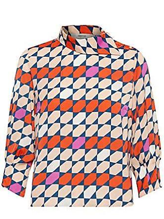 Mesula 36 34 Mujer Para Rojo talla Gestuz Del Fabricante red 90546 purple Blouse Blusa Tile BqvwAd