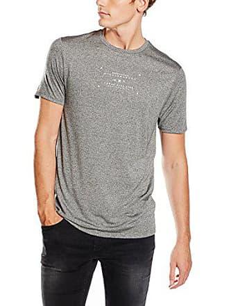 Courtes Homme Look T shirt New Manches Medium Gris 86IFwq