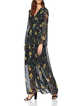 Multicolour Vestido Blurred 42 Maxi Para Dress Floral 0088 Ink Mujer Wrap multi Lost 4FwqSYzTT