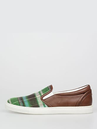 Basic 39 Leather Dsquared2 And Fabric 5 Size Sneakers UBT4wxtq4