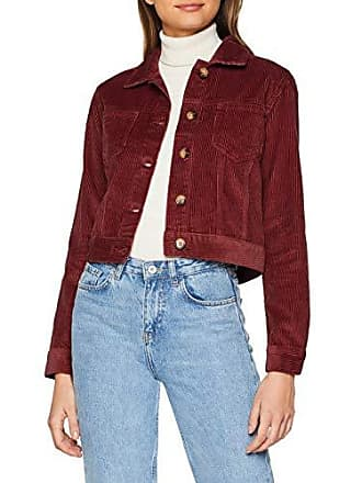 Look Rouge Burgundy 5977663 36 dark Femme Cord Blouson New FwvdHqH