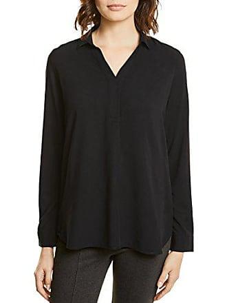 Solid 10001 Negro V neck black 36 Para Street One Blusa Mujer Shirt Blouse PwAwqzf5